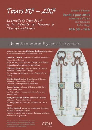 affiche Tours 813.ai
