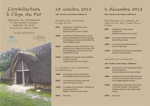 Programme séminaire 2013-14