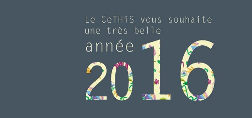 Voeux CeTHiS 2016